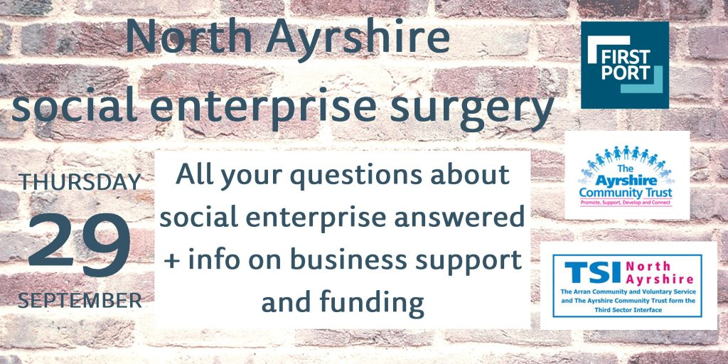 north-ayrshire-social-enterprise-surgery-29-september-2016